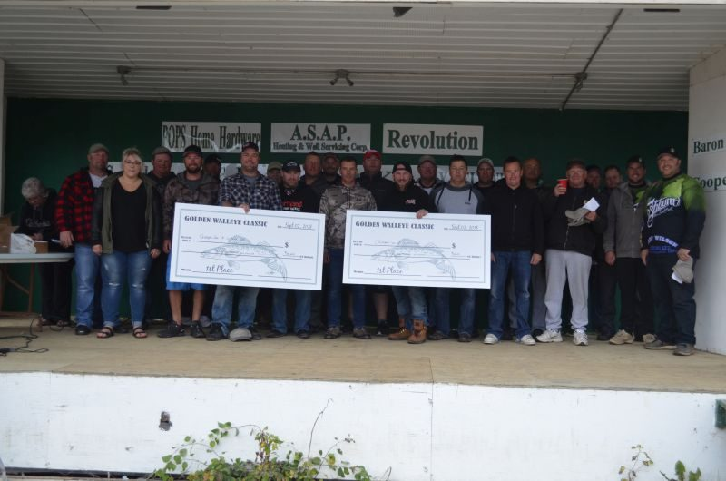 Golden Walleye Classic held at Shaw's Point Resort