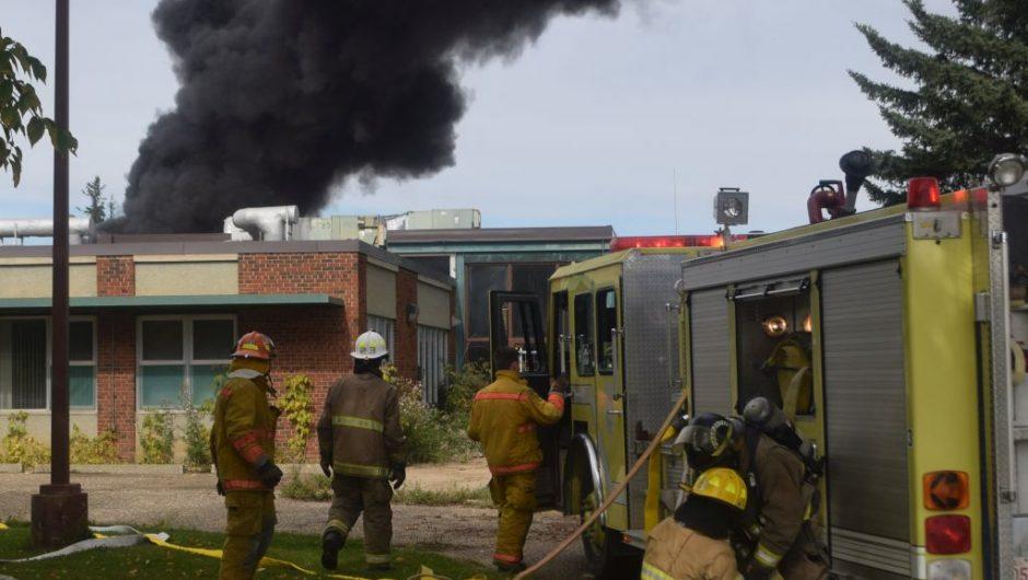 Fire ignites renewed plea to demolish old hospital