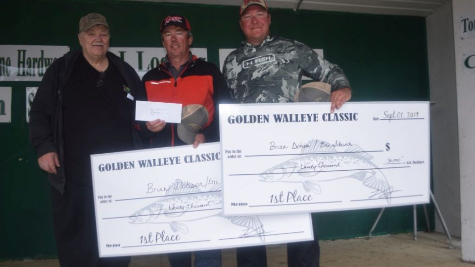 Edmonton-area pair wins Golden Walleye Classic