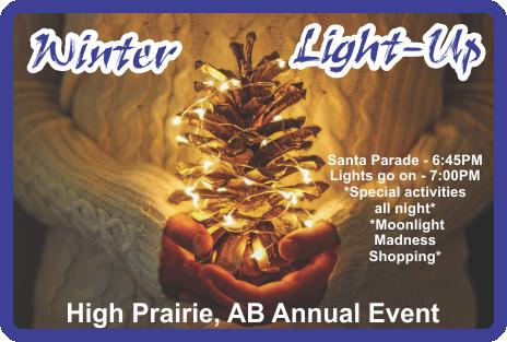 High Prairie Winter Light-Up