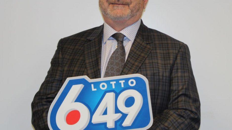 Guy man wins $331,763.60 in 6/49 lottery draw