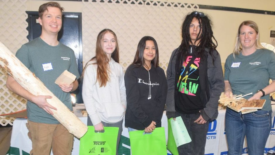 Forestry fair plants seeds for students