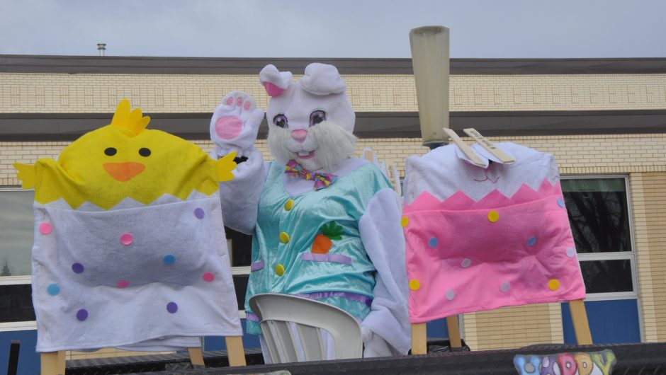 Easter Bunny Visits High Prairie