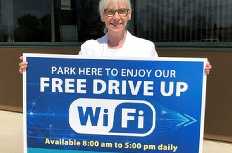 NLC offers drive-up Wi-Fi