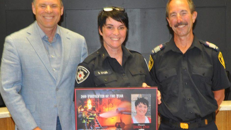 High Prairie Fire Department presents 2019 awards