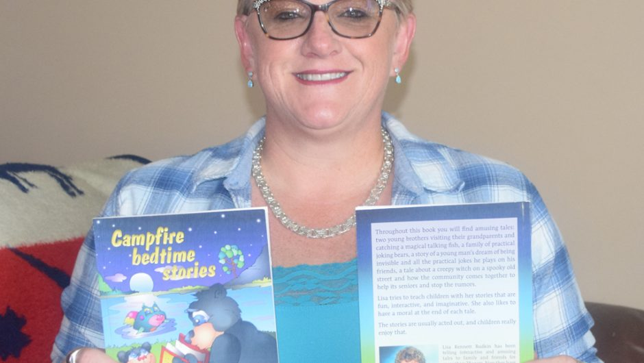 HP author shares life in children's book