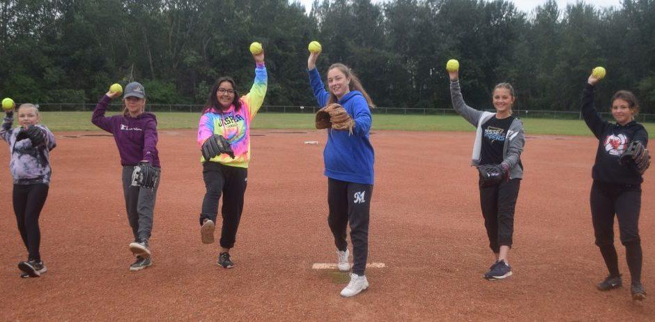 Young ball players sharpen skills at camp