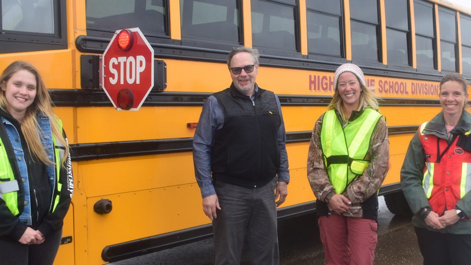 Be aware! Students are back on buses!
