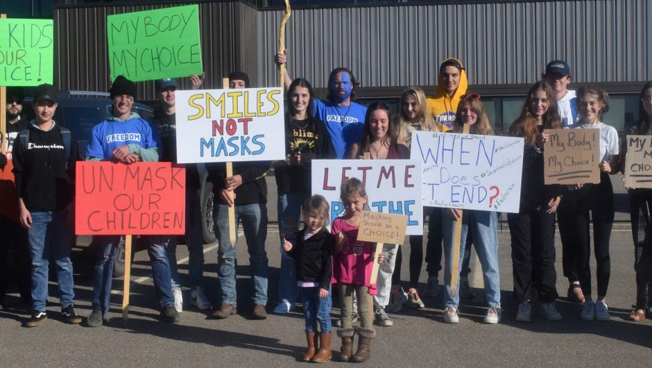 Parents demanding freedom of choice