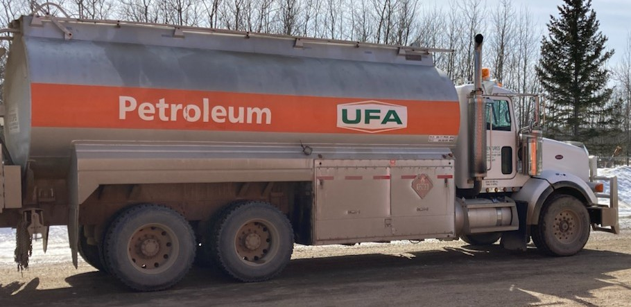 Commercial fuel trucks stolen